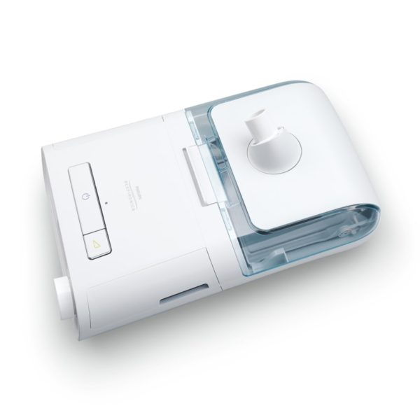 Philips Respironics Dreamstation bipap pro sleep apnea machine with humidifer top